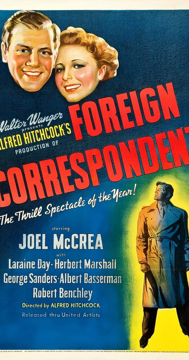 Subtitle of Foreign Correspondent