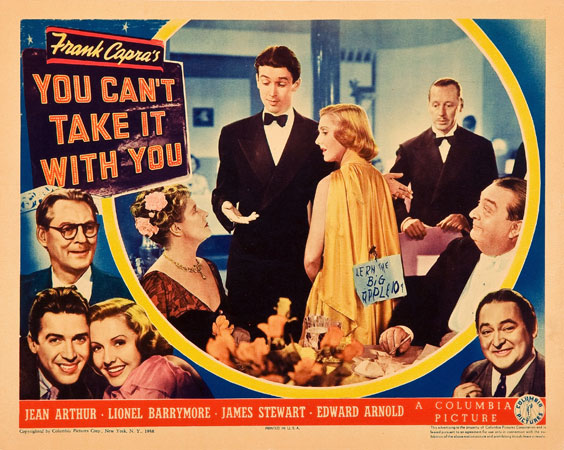 Image result for you can't take it with you 1938