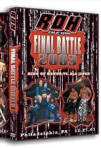 ROH: Final Battle 2003