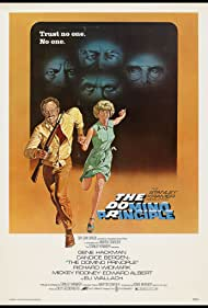 Candice Bergen and Gene Hackman in The Domino Principle (1977)