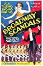 Broadway Scandals (1929) Poster