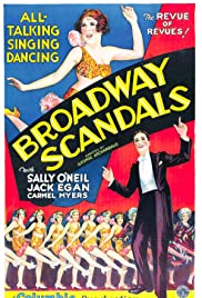 Broadway Scandals Poster