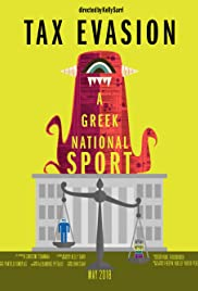 Tax Evasion: A Greek National Sport Poster