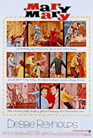 Mary, Mary (1964) Poster - Movie Forum, Cast, Reviews