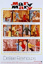 Mary, Mary (1963) Poster - Movie Forum, Cast, Reviews