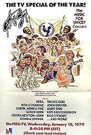 Le don d'une chanson gala de l'unicef 1979 Poster