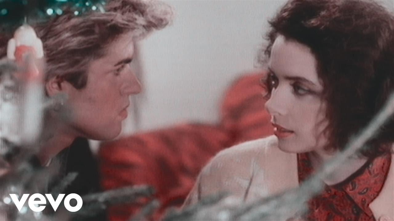 George Michael in Wham!: Last Christmas (1984)