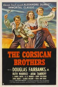 Douglas Fairbanks Jr. and Ruth Warrick in The Corsican Brothers (1941)