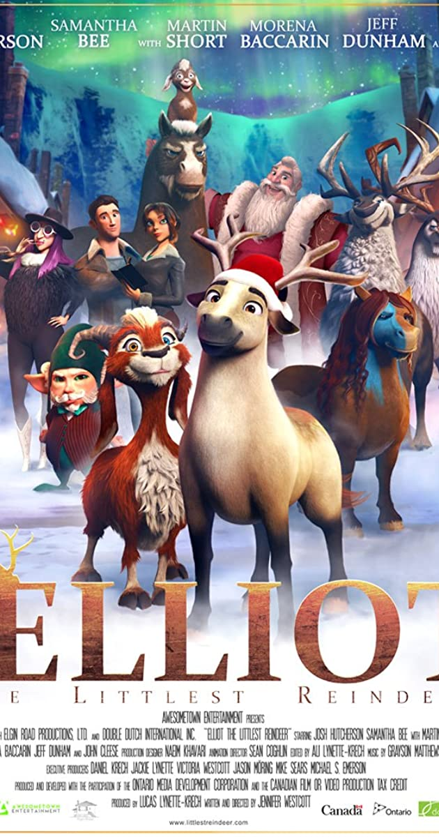 Subtitle of Elliot the Littlest Reindeer
