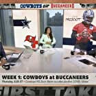 Michael Irvin, Stephen A. Smith, and Molly Qerim in ESPN First Take (2007)