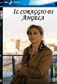 Il coraggio di Angela Poster