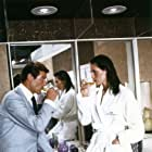 Roger Moore and Maud Adams in The Man with the Golden Gun (1974)