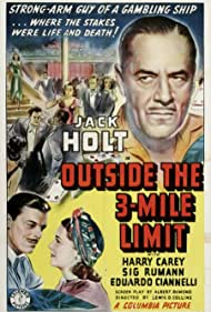 Donald Briggs, Jack Holt, and Irene Ware in Outside the Three-Mile Limit (1940)