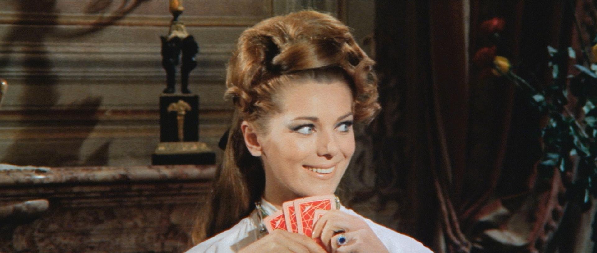 Delfi Mauro in La lama nel corpo (1966)