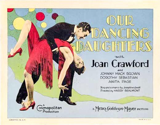 Joan Crawford and Johnny Mack Brown in Our Dancing Daughters (1928)