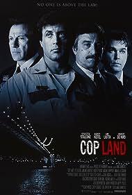 Robert De Niro, Harvey Keitel, Sylvester Stallone, and Ray Liotta in Cop Land (1997)