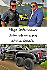 Primary photo for Migz Interviews John Hennessey at the Quail
