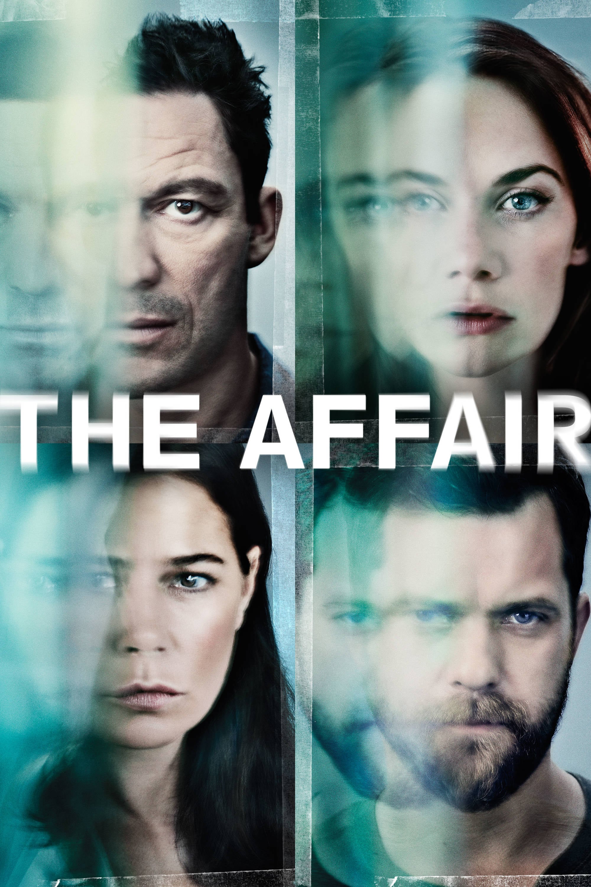 Joshua Jackson, Maura Tierney, Dominic West, and Ruth Wilson in The Affair (2014)
