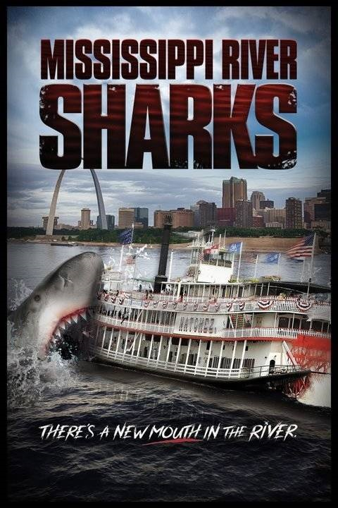Mississippi River Sharks (2017) Hindi Dual Audio 400MB UNCUT HDTV 720p HEVC x265