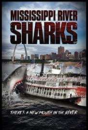 Mississippi River Sharks Poster