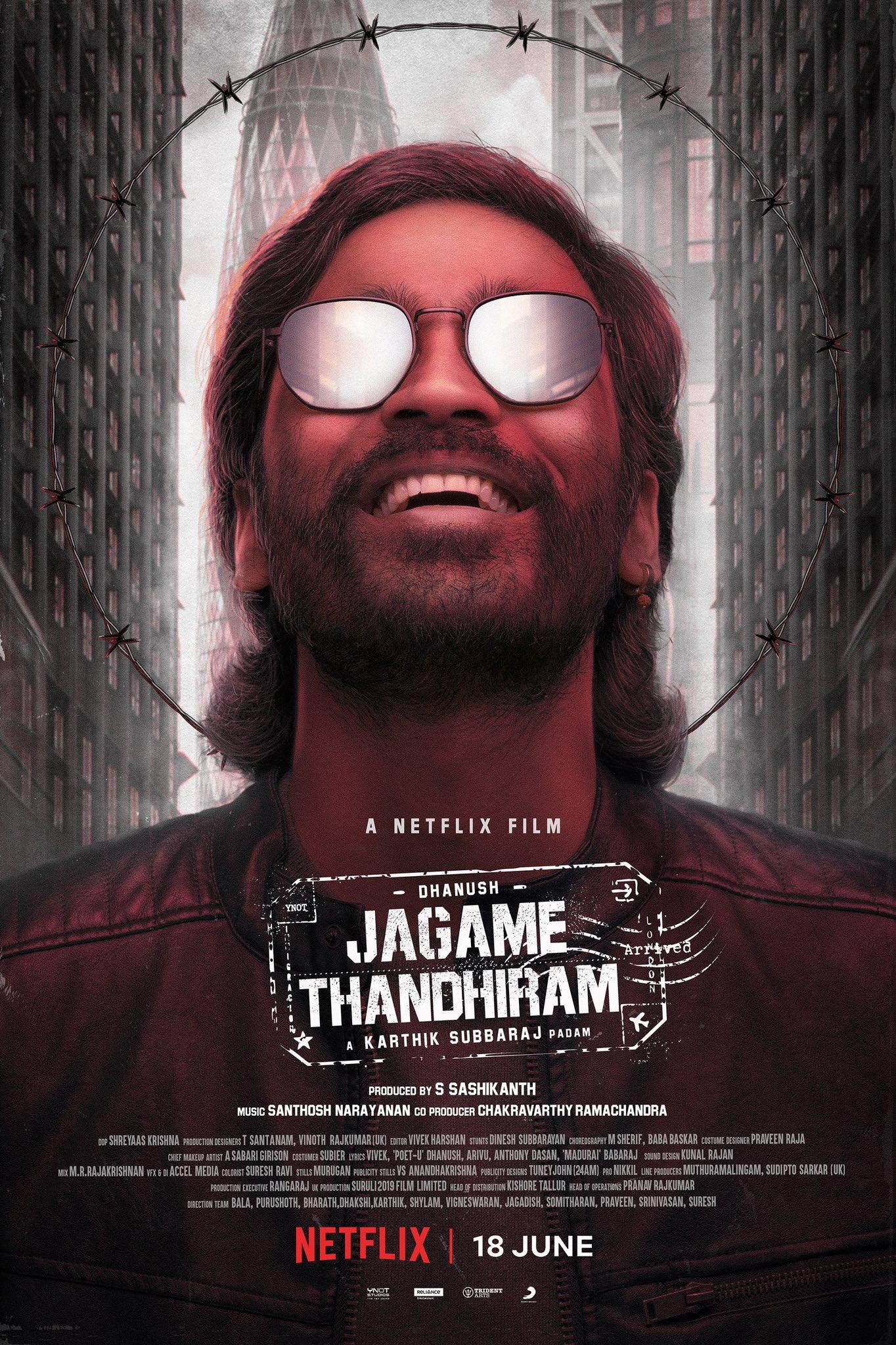 Free Download Jagame Thandhiram Full Movie