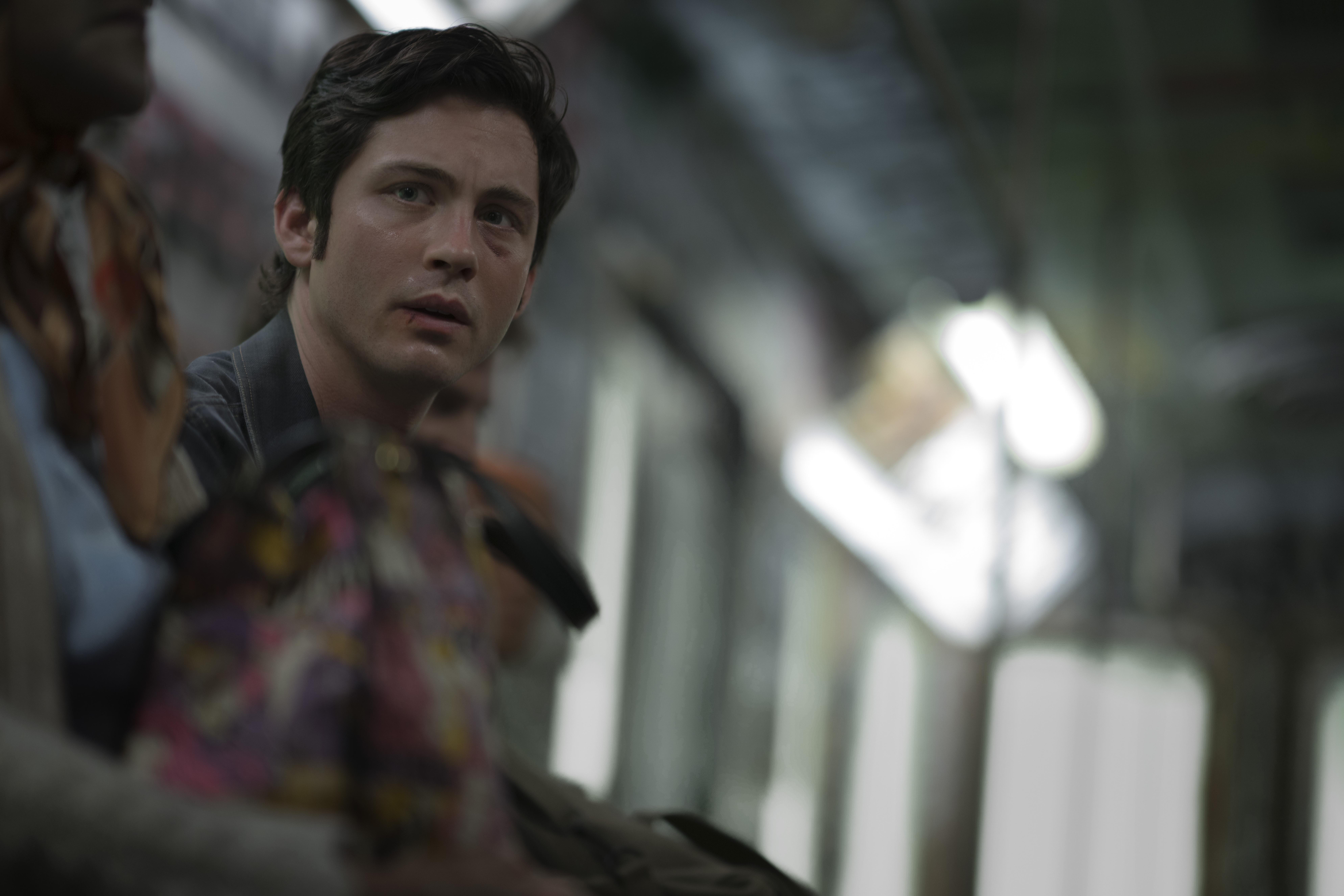Logan Lerman in Hunters (2020)