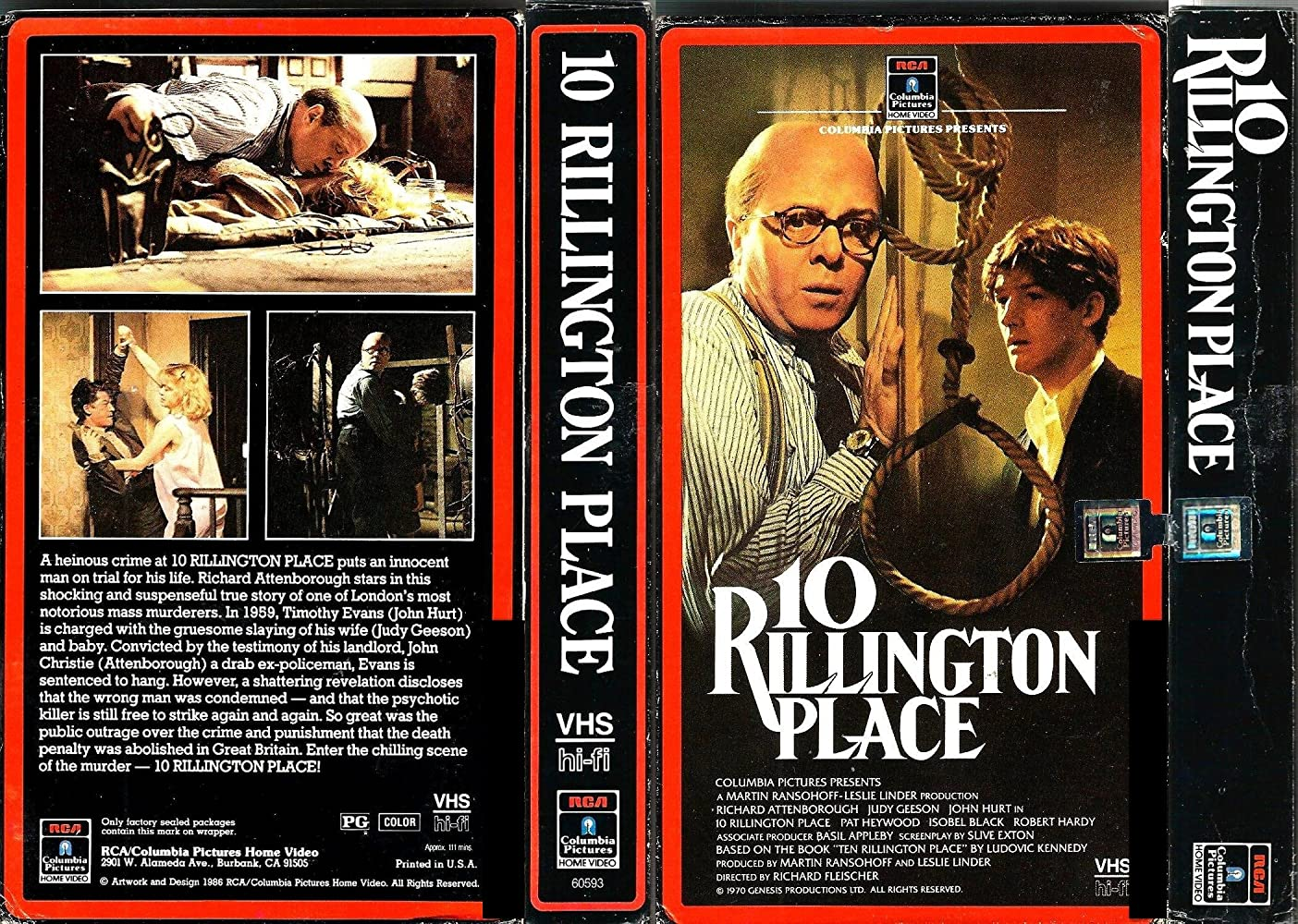 Image result for 10 Rillington Place 1971