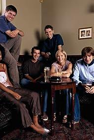 William Ash, Lisa Faulkner, Kieran O'Brien, and Marsha Thomason in Burn It (2003)