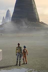Freddie Prinze Jr. and Taylor Gray in Star Wars: Rebels (2014)