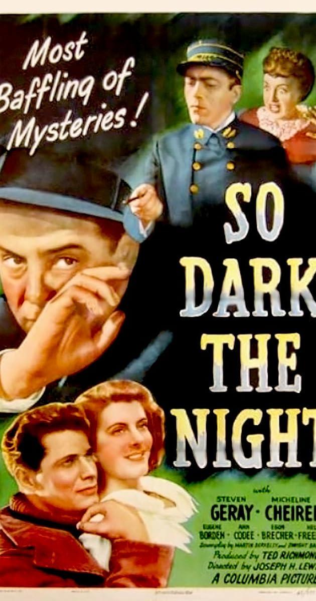 Subtitle of So Dark the Night