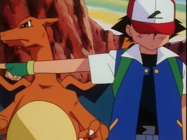 burn lizardon vs kairyu