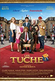 Claire Nadeau, Isabelle Nanty, Jean-Paul Rouve, Sarah Stern, Théo Fernandez, and Pierre Lottin in Les Tuche 3 (2018)