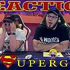 Melanie Elliott and Aaron Elliott in Blind Wave: Supergirl Reaction (2015)