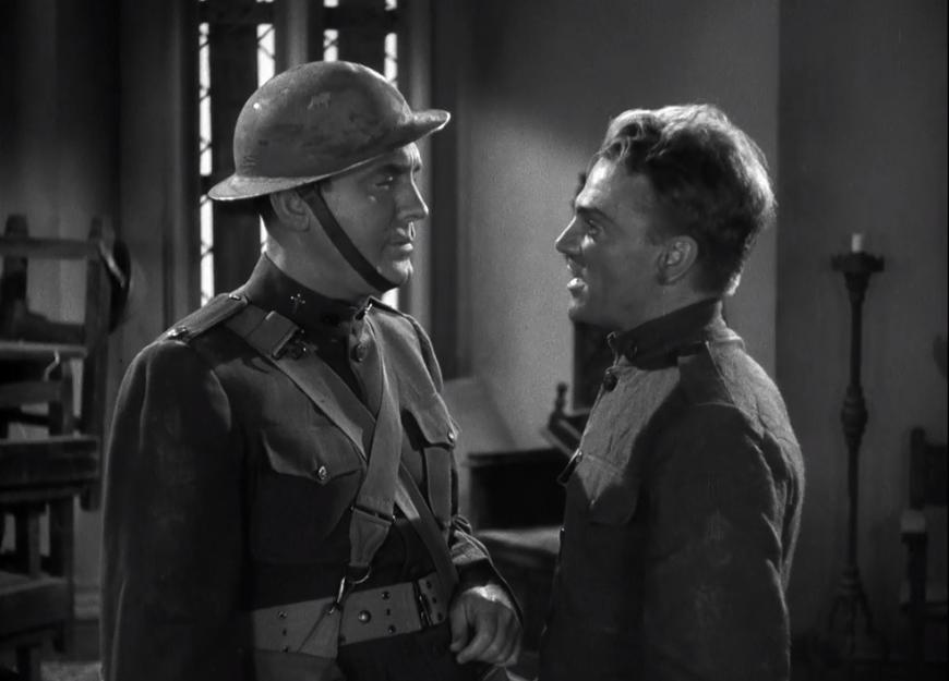 James Cagney and Pat O'Brien in The Fighting 69th (1940)