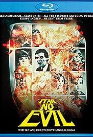 Pyro, Gators & the Devil - John Eggett on Fear No Evil Poster