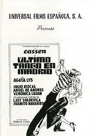 El último tango en Madrid Poster
