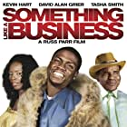 Kevin Hart and Tasha Smith in Something Like a Business (2010)