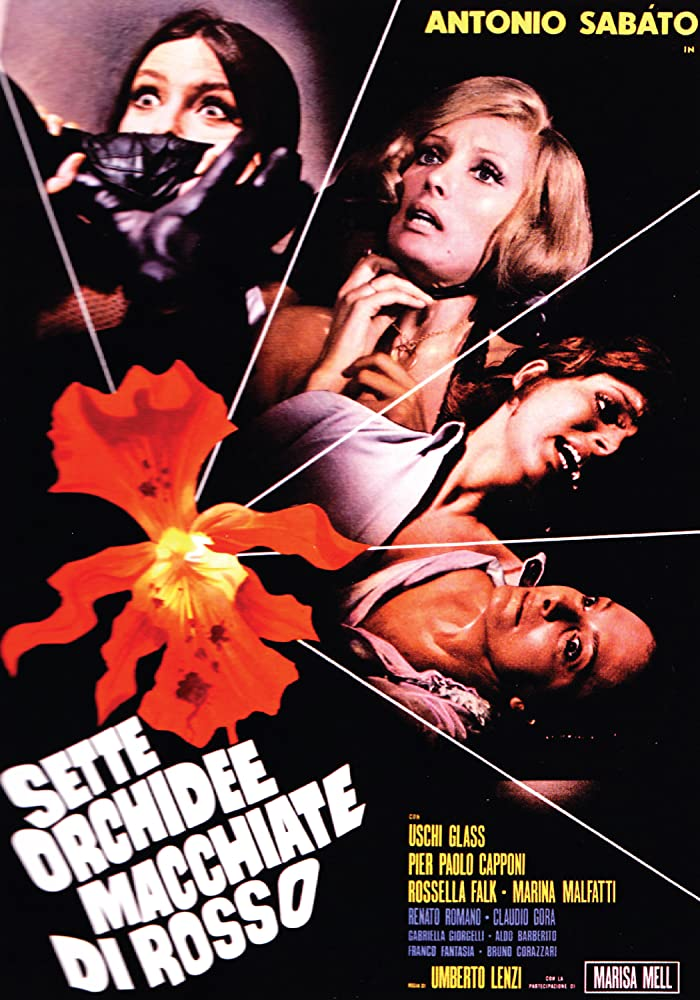 Sette orchidee macchiate di rosso (1972)