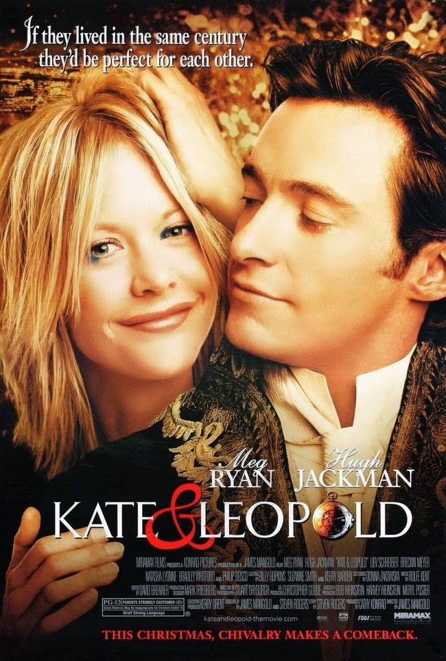 Meg Ryan and Hugh Jackman in Kate & Leopold (2001)