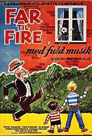 Far til fire med fuld musik Poster