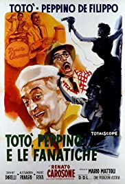 Toto, Peppino and the Fanatics Poster