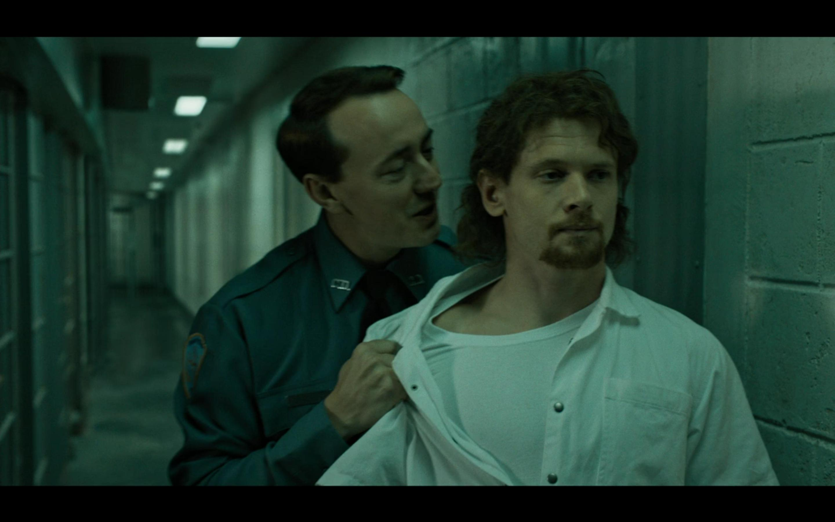 Jack O'Connell and Chris Coy in Trial by Fire (2018)