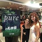With Ciara Bravo at Into the Dark - Pure Release
