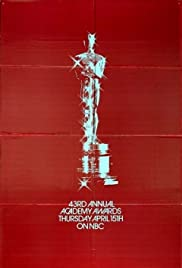 The 43rd Annual Academy Awards Poster