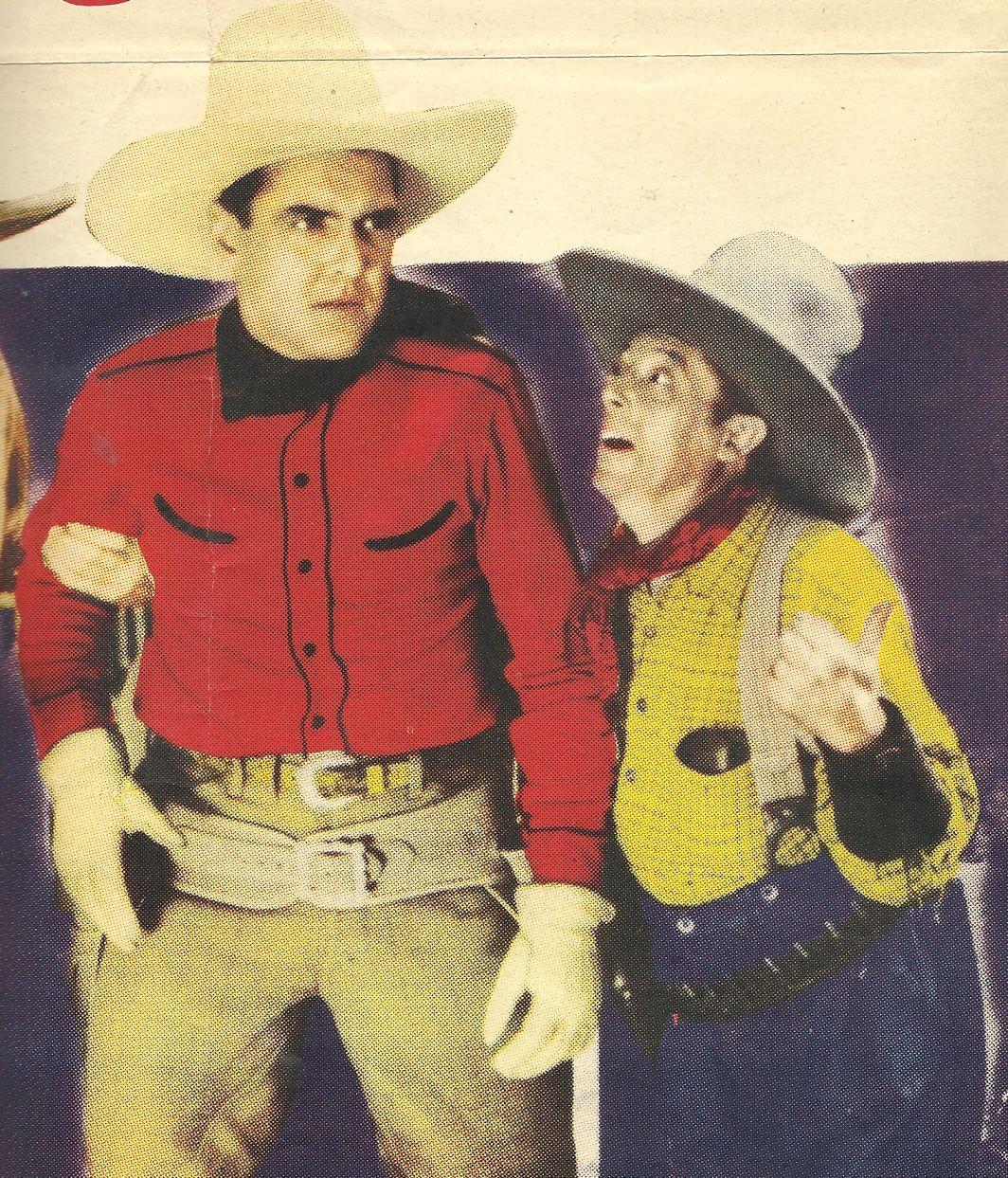 Billy Bletcher and Ken Maynard in Branded Men (1931)