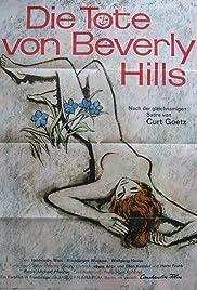 Die Tote von Beverly Hills Poster
