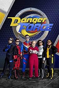 Luca Luhan, Terrence Little Gardenhigh, Havan Flores, Cooper Barnes, Michael D. Cohen, and Dana Heath in Danger Force (2020)