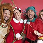 Ashley Newbrough, Lindsey Gort, Kyle Dean Massey, and John DeLuca in A Merry Christmas Match (2019)