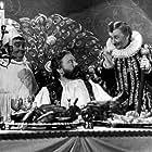 Vlasta Burian, Frantisek Cerný, and Jan Werich in Byl jednou jeden král... (1955)