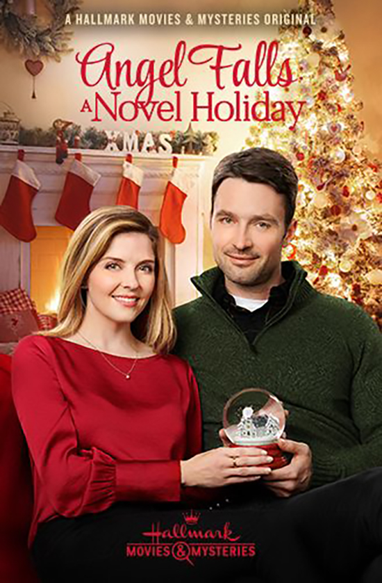 Jen Lilley and Carlo Marks in Angel Falls: A Novel Holiday (2019)